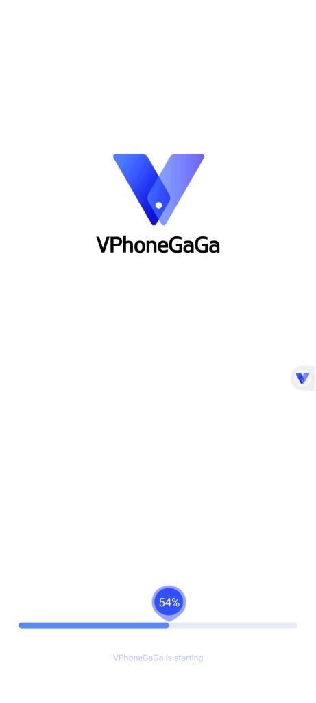 Screenshot of VPhoneGAGA App