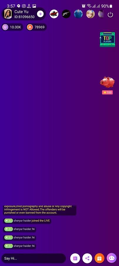 Screenshot of Honey Live Download