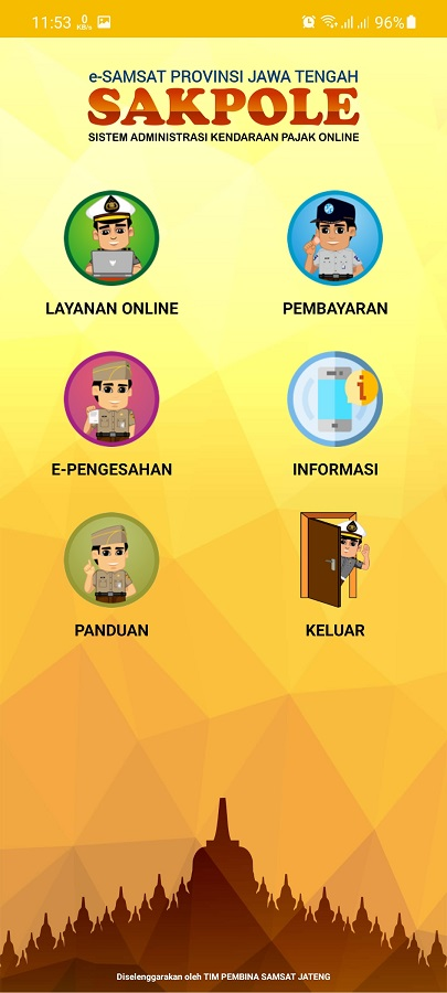 Screenshot of Sakpole App