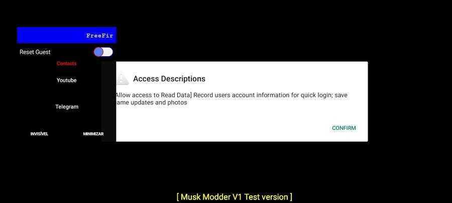 Screenshots of The Musk Mod