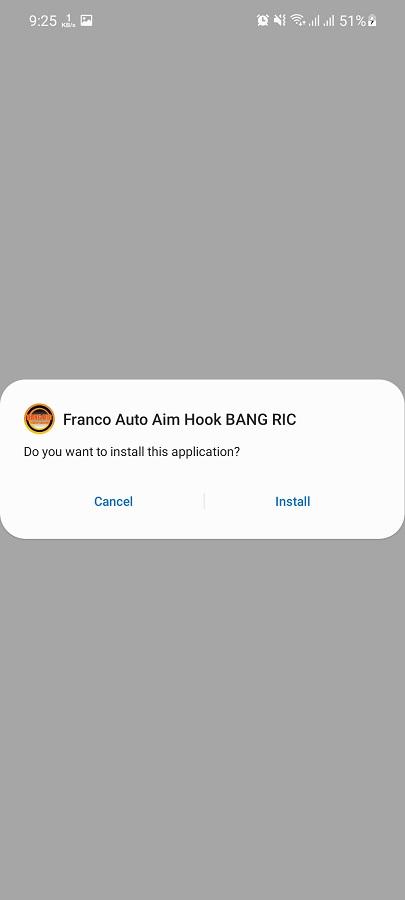 Screenshot saka Auto Aim Hook Franco Apk
