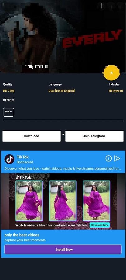 Screenshot of Flickz Apk Download