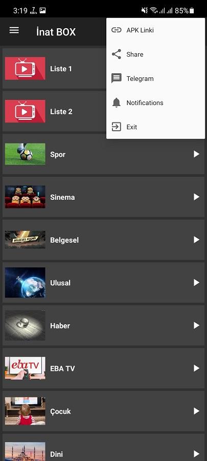 Screenshot of Inat Box Android
