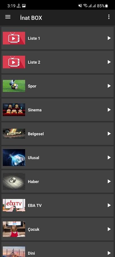 Screenshot of Inat Box Download