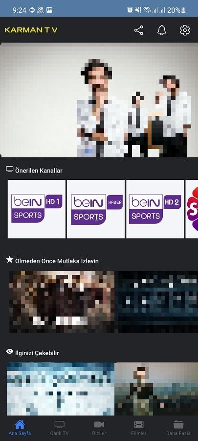 Screenshot of Karman TV Apk
