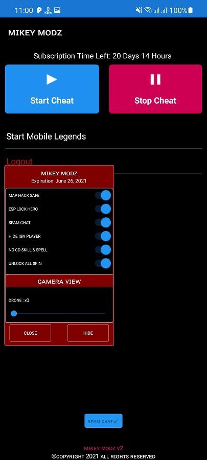 Screenshot of Mikey Modz ML Download