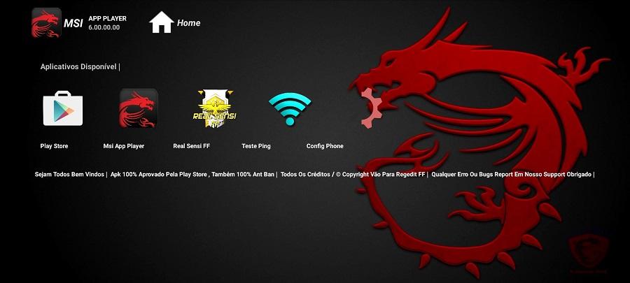 Screenshot of REGEDIT MSI App Player