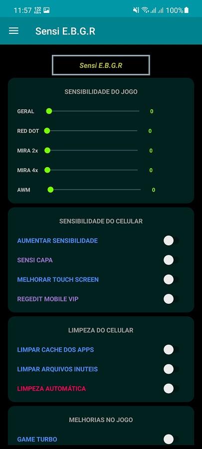 Screenshot of Sensi E.B.G.R Android