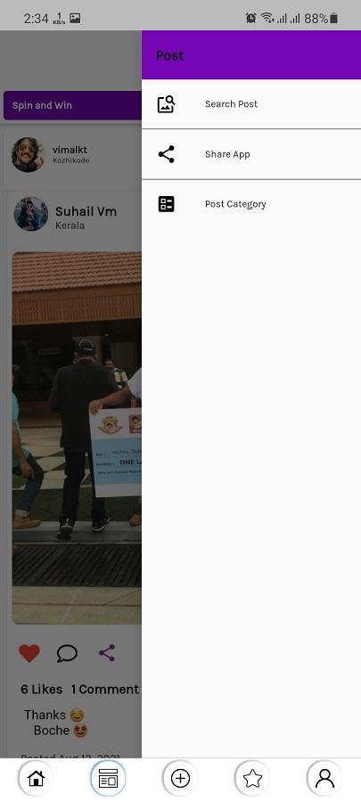 Screenshot of Boby Fans Download
