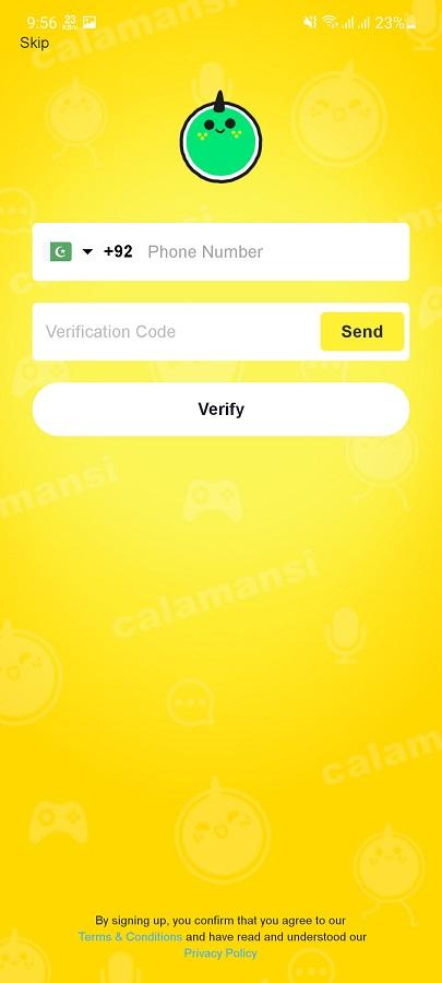 Screenshot of Calamansi App Apk