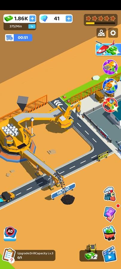 Screenshot of Coal Mining INC Android