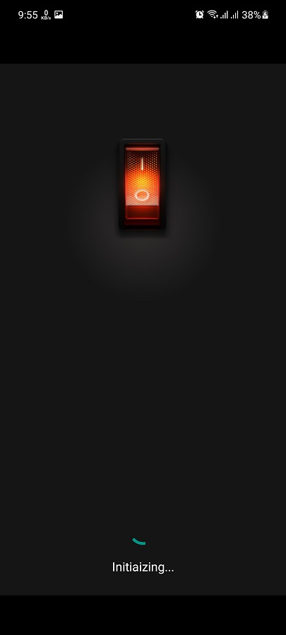 Screenshot of Flashlight Video Projector App For Android