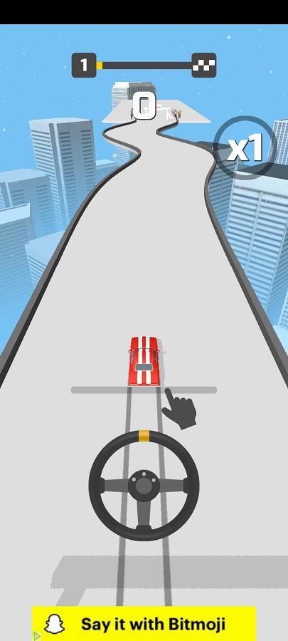 Screenshot of Hyper Drift Game