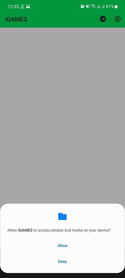 Screenshot of IGAMES Mobile Apk