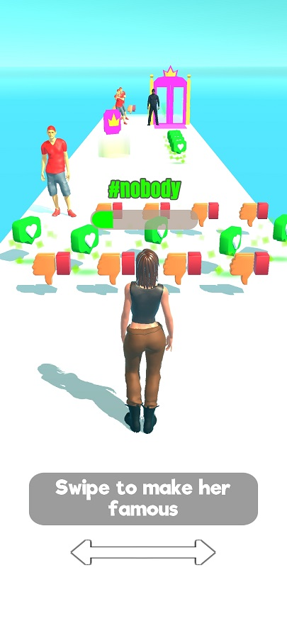 Screenshot of Influencer Rush 3D Android