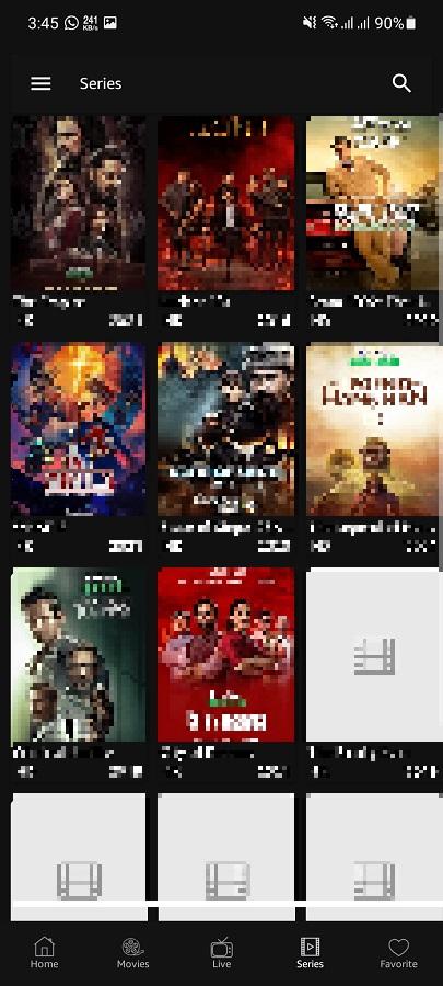 Screenshot of MR TV Apk