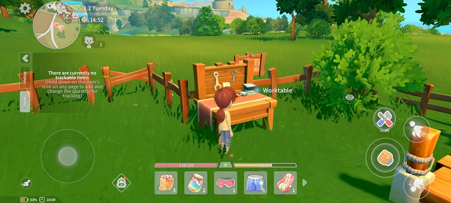 Screenshot of My Time At Portia Android