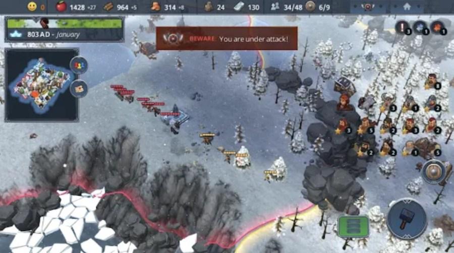 Screenshot of Northgard Apk