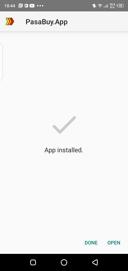 Screenshot of Pasabuy Download