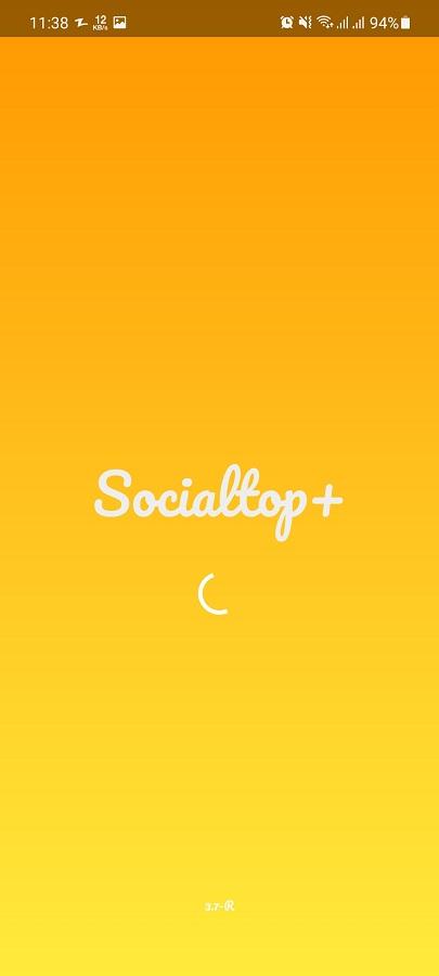 Screenshot of Social Top App