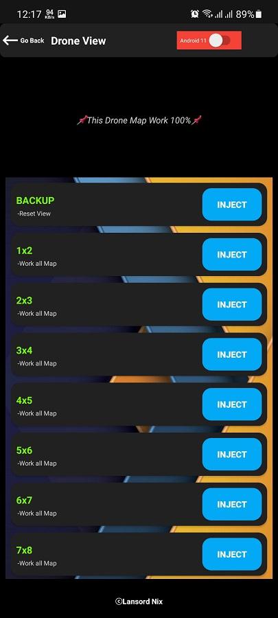 Screenshot of Sphynx Injector Download