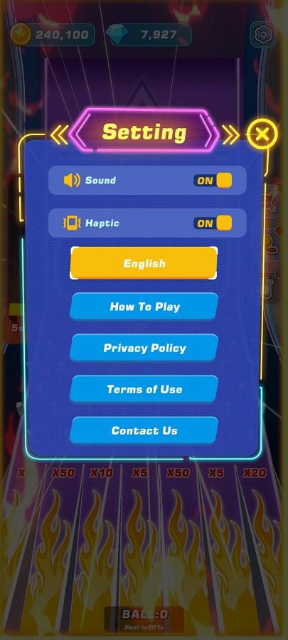Screenshot of Toss Diamond Hoop Mod Apk