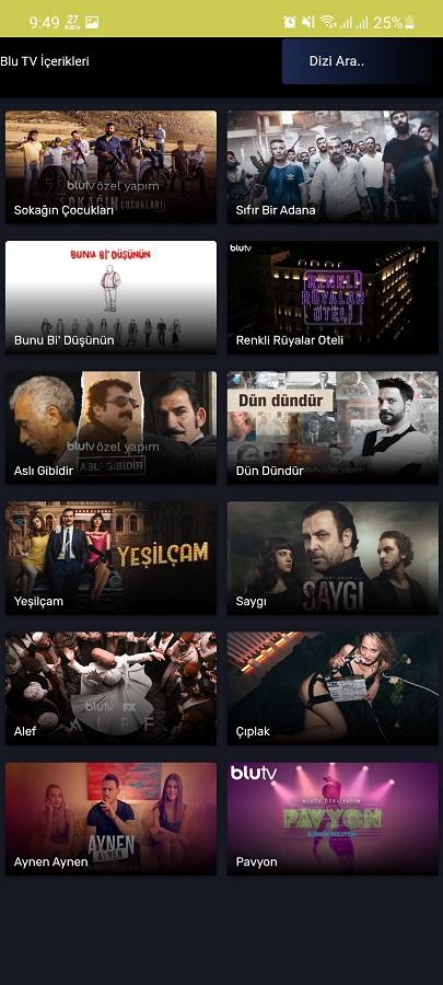 Screenshot of BY IPTV Pro Download