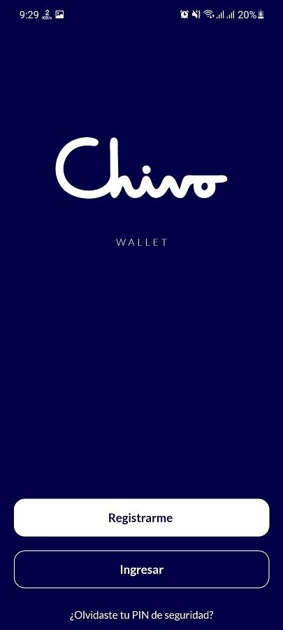 Screenshot of Chivo Wallet App