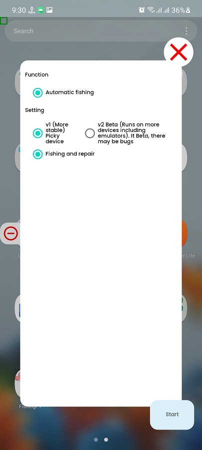 Screenshot of Fishing PT Android