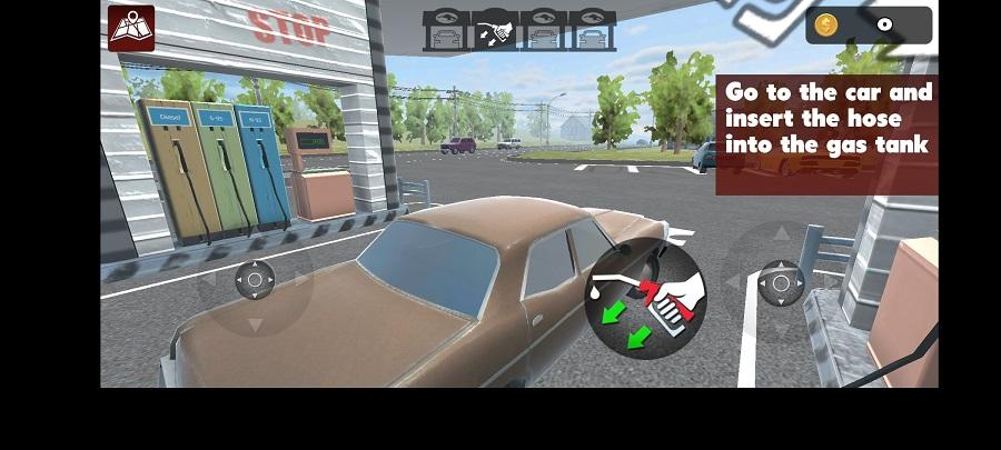 Skermkiekie van Gas Station Simulator Game Download