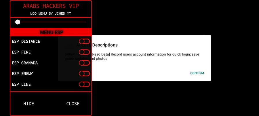 Screenshot of High Hack VIP Android