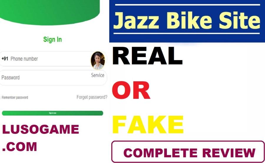 Screenshot of Jazz Bike App