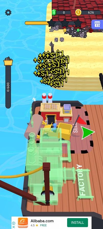 Screenshot of Stone Miner Apk