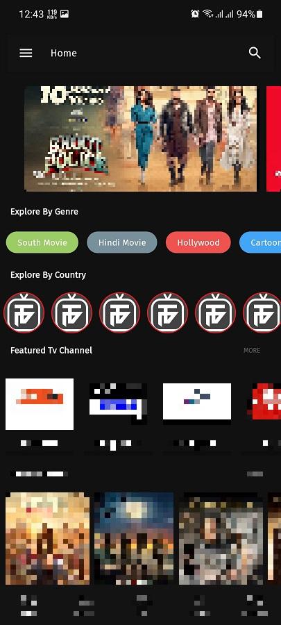 Screenshot of Thop TV Pro
