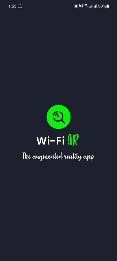 Screenshot of Wifi AR