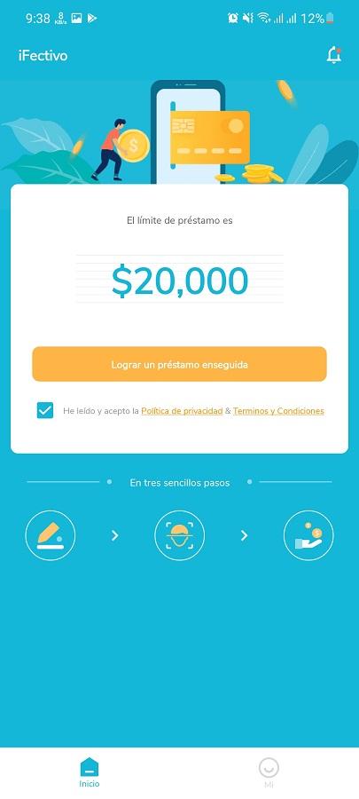 Screenshot of iFectivo Download