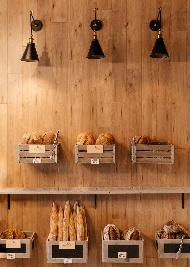 Bread boxes at theUnboxed Market