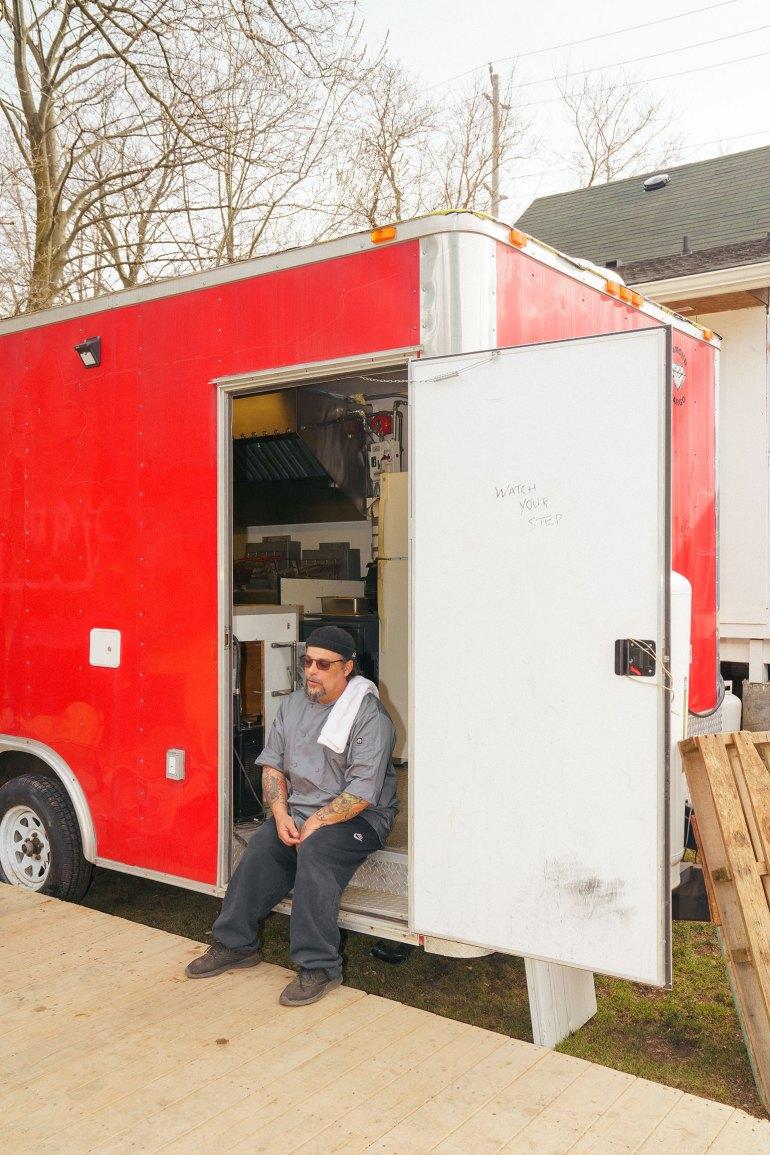 Danny Raposo food truck