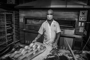 Luso–Life - Canada COVID Portrait - baker by George Pimentel