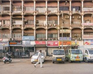 Apartment building in Mumbai