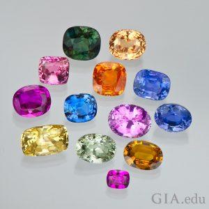 natural sapphires