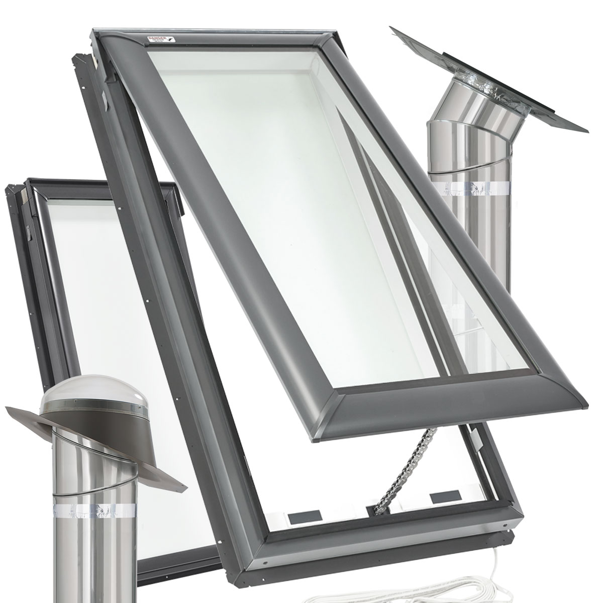 Lustercraft is a distributor of Velux skylights