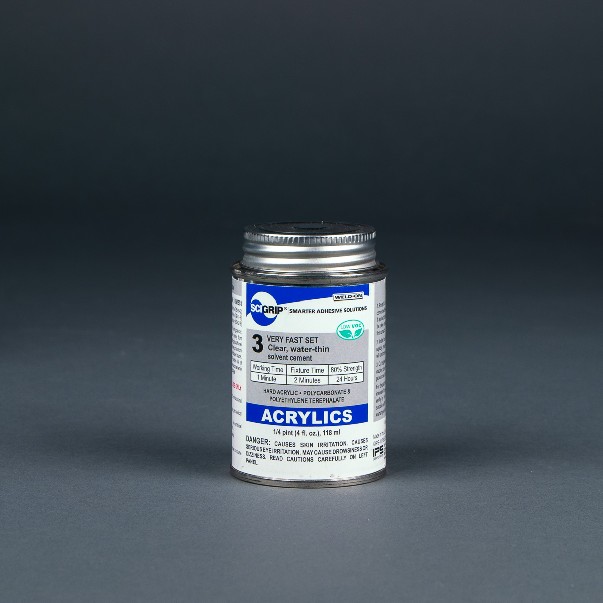 Weld-On 3 Cement Solvent 1/4 pint