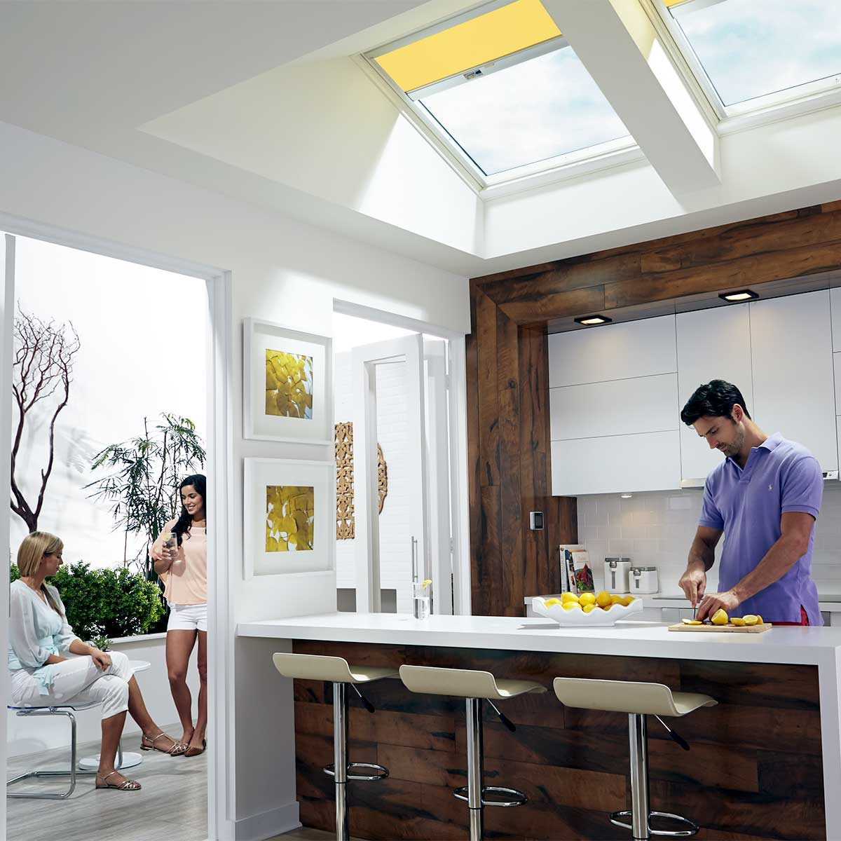 Velux QPF Fixed Deck Mount Skylights