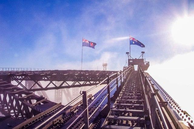BridgeClimb Sydney Flags Morning