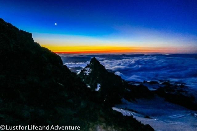 Tahoma Sunrise