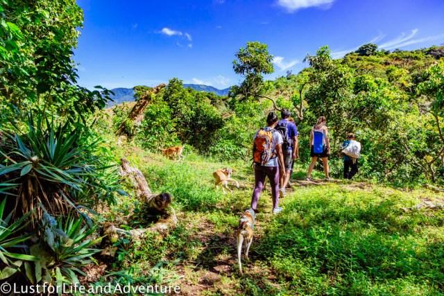 Hiking Juayua