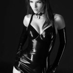 lustful look in latex