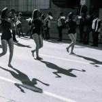 cheerleaders parade