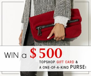 Enter Our Topshop Contest to Win $750 in Prizes!
